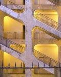Cour des Voraces, Croix Rousse - neuvěřitelné kamenné schodiště